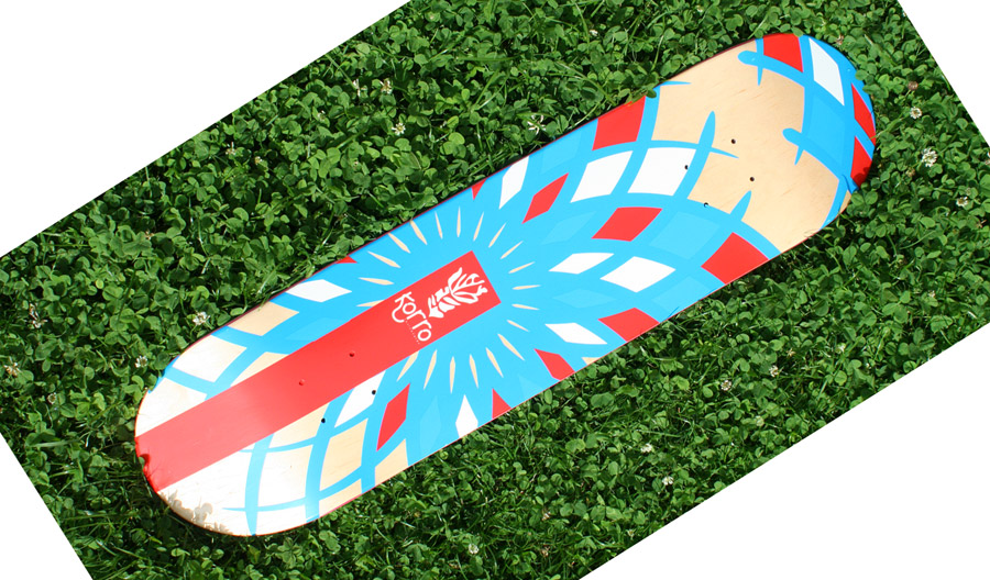 Board vierge Korro Skateboards