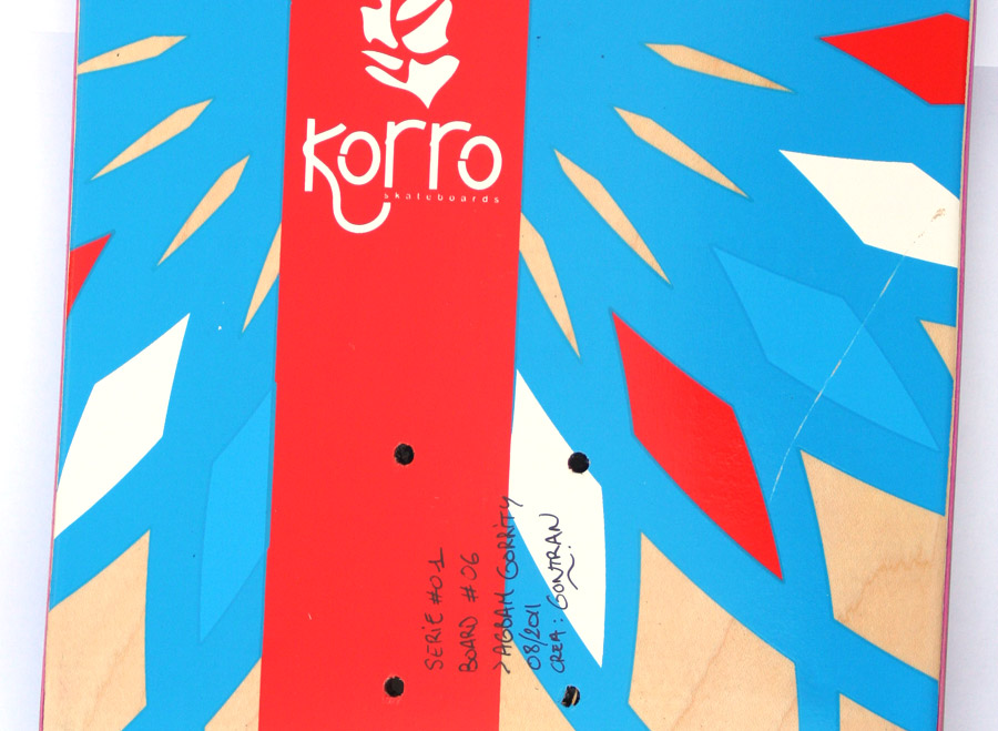 Signature de boards  Korro skateboards