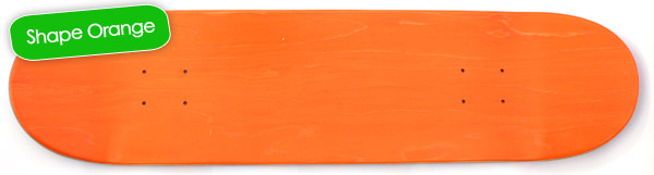 Shape Orange Korro Skateboards