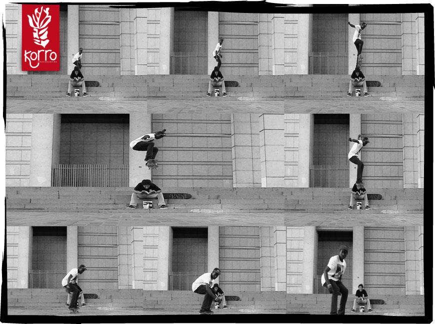photo de Agbam GORRITY à Paris (Bercy) en séquence Ollie