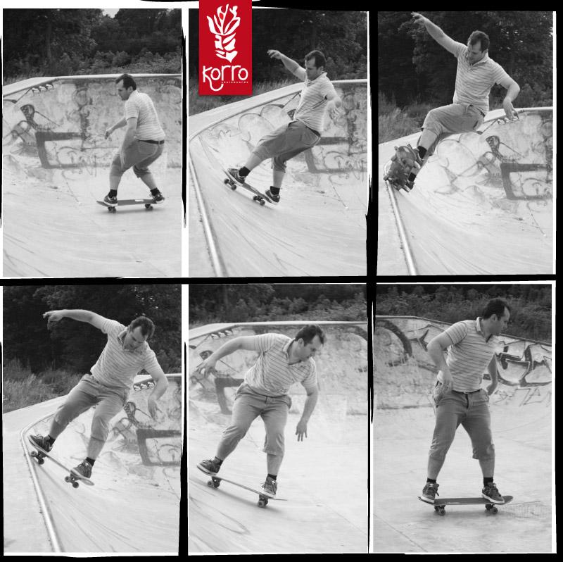Séquence Korro Skateboard : Five-o dans le bol