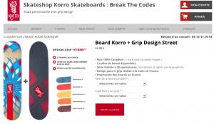 Boards - nouveau Skateshop Korro Skateboards