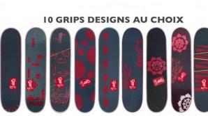 Boards Korro Skateboards : 10 Grips designs au choix