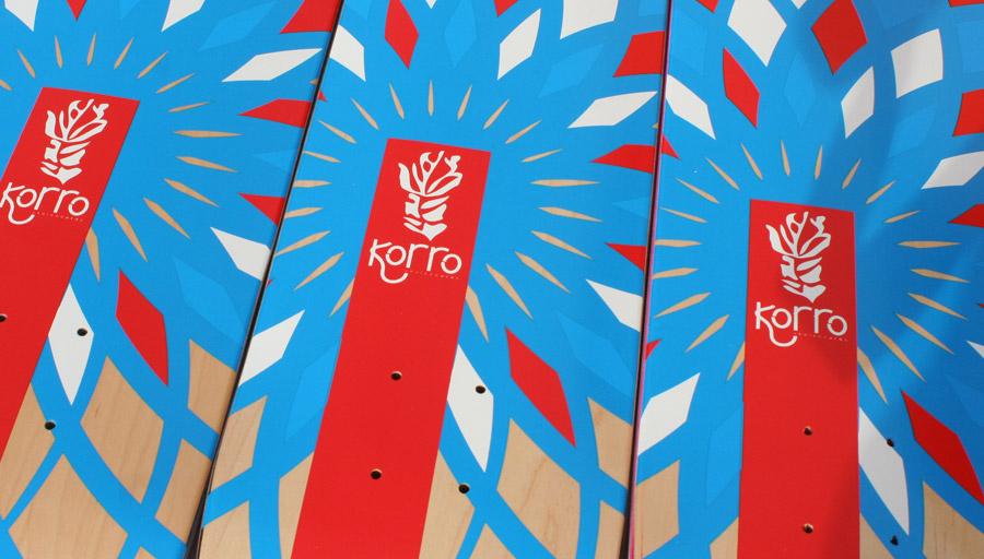 Boards vierges Korro Skateboards