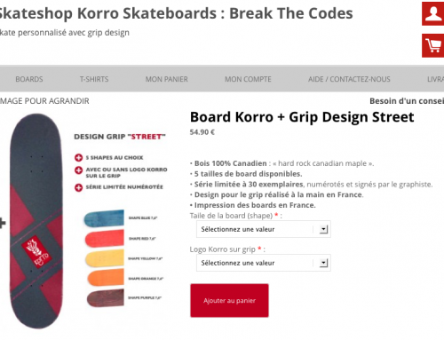 Nouveau Skateshop Korro Skateboards