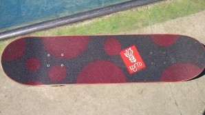 Korro board grip design bulle