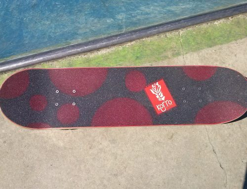Board Korro avec grip Design Bulle