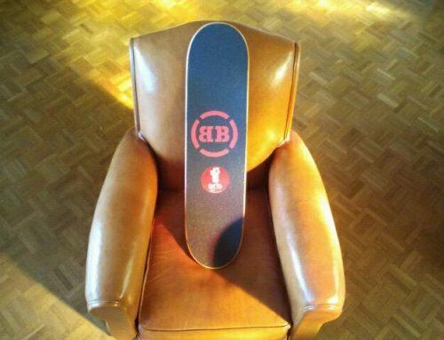 Nouveau grip design personnalisé Korro Skateboards BB